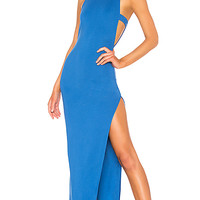 NBD Late Night Gown in Cobalt Blue | REVOLVE
