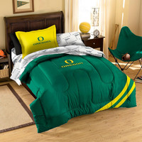 Oregon Ducks NCAA Bed in a Bag (Contrast Series)(Twin)