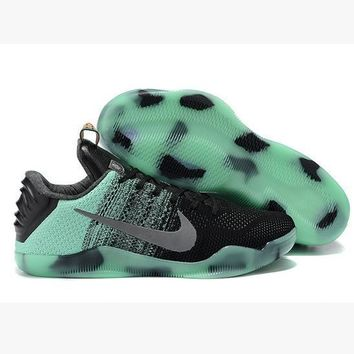Men Kobe XI Weave Nike Basketball Grender Shoe Gradient Green