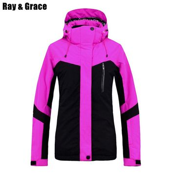RAY GRACE Professional Snow Jacket Winter Sports Clothing For Wo ba4c9f716