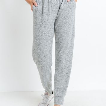 Lazy Sunday Knit Joggers