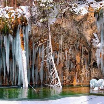 A Spring That Knows No Summer. - Hanging Lake Print - Art Print