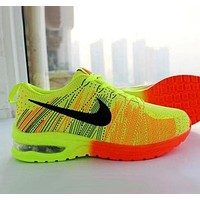 """Nike"" Popular Women Men Casual Air Cushion Breathable Cushioning Sneakers Sport Shoes I"