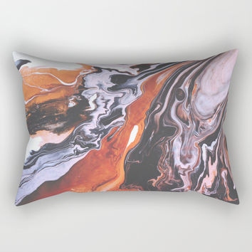 soul mate Rectangular Pillow by duckyb