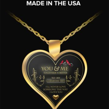 You and MeTogether Forever- NECKLACE- IT'S A BEAUTY- A MUST TO HAVE- ON SALE TODAY- GET IT NOW