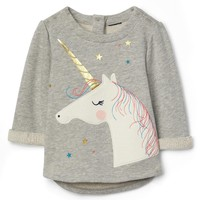 Unicorn terry pullover | Gap