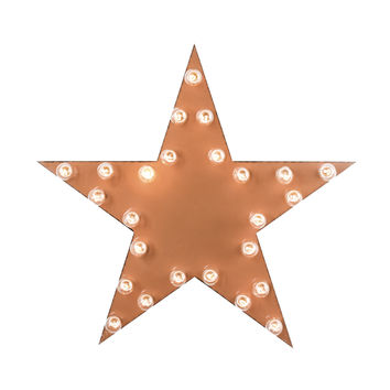 Star Marquee Sign