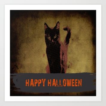 Halloween  Art Print by Jessica Ivy
