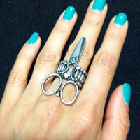 Scissor Ring | Pretty EDGY