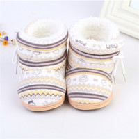 Newest Lovely Winter Warm Baby Shoes Cotton Padded Infant Toddler Baby Boys Girls Boots Softborn Bebe Boot