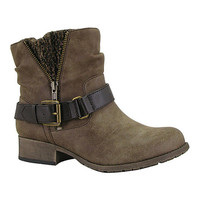 Jellypop Brown Distressed Rosalie Ankle Boot | zulily