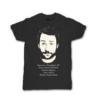 It's Always Sunny in Philadelphia CHARLIE KELLY  T-Shirt Unisex Black Charlie Day Funny Tee Shirt