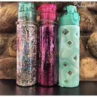 Glitter Sports Water Bottle