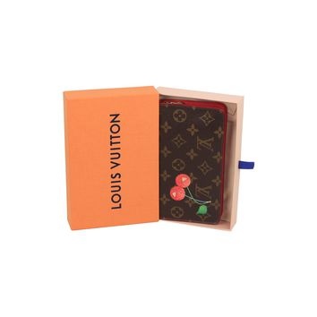 Authentic LOUIS VUITTON Limited Edition CERISES Cherry Zippy Wallet