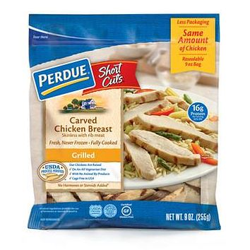PERDUE GRILLED & BREADED CHICKEN BREAST AND STEAK STRIPS