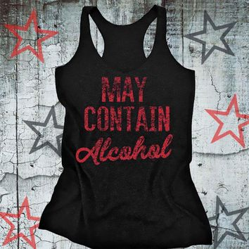 May Contain Alcohol - Women's Drinking Tank Top