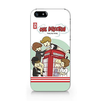 A-188 -  One Direction  iPhone 4/4S case, iPhone 5/5S case