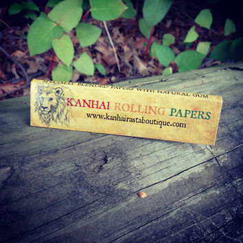Kanhai Rolling Paper/Cigarette Paper/King Size/Slow Burning/4 Packs