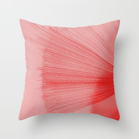Reds Throw Pillow by duckyb