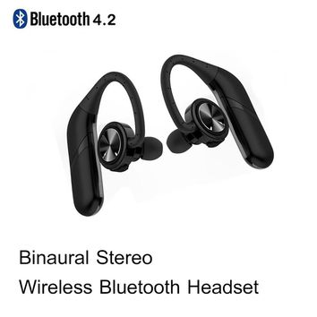 Ture Wireless Binaural Headset Sport Earbuds Stereo Headset