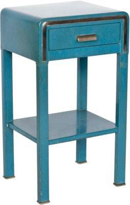 One Kings Lane - Architectural Anarchy - Art Deco Metal Side Table