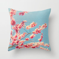 MEMORY IN PINK Throw Pillow by Catspaws