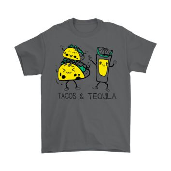 DCKG6Q Tacos & Tequila Food And Drink Happy Shirts