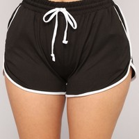 One And Only Dolphin Shorts - Black