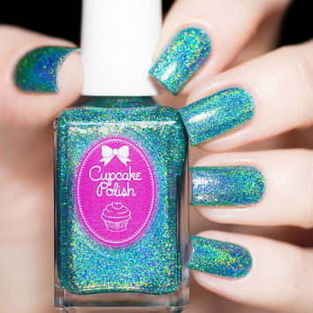 Cupcake Polish Mermaid You Look Nail Polish (Seashells Collection)