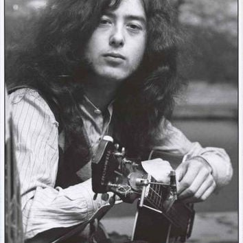 Led Zeppelin Jimmy Page 1970 Poster 24x33