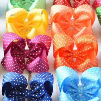 Girls Hair Bows, Hair Bows, 4 inch Hair Bows, Toddler Hair Bows, Hair Bows for Girls, Toddler Hair Clips, 4 inch Bows, Small Hair Bows, 400