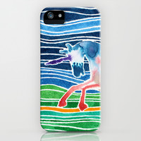 Unicorn - Licorne - Unicornio - Einhorn iPhone & iPod Case by Condor
