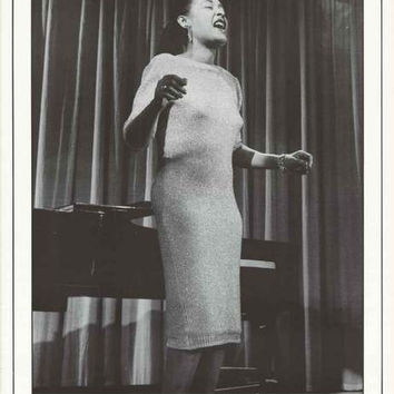 Billie Holiday Lady Sings the Blues Poster 25x35