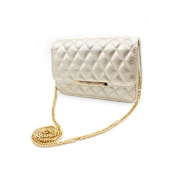 Elegant lady chain purse