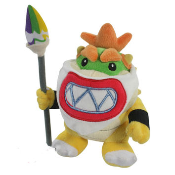 New 2016 year Super supermario plush toy series doll 18cm  Super Mario plush toys Bowser dragon doll Brothers Bowser retail