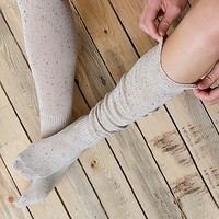 Women's Nubby Socks