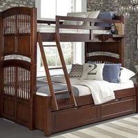 James Place Twin over Full Bunk Bed