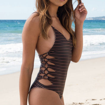 ACACIA SWIMWEAR - Florence One Piece | Dark Classic