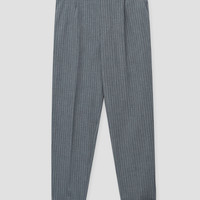 Striped tailored trousers - Trousers - Clothing - Woman - PULL&BEAR United Kingdom