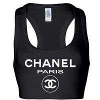 Chanel Paris Top Sports Bra