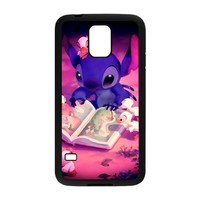 Lilo & Stitch Design Plastic Custom Case Design Cases For Samsung Galaxy S5 s5-NY003
