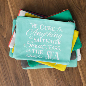 inspirational quote zipper bags 2
