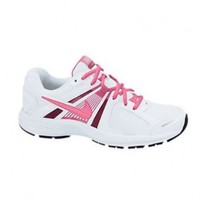 Nike Women's NIKE DART 10 WMNS RUNNING SHOES 7 Women US (WHITE/DGTL PINK/FSN PINK/MTLLC S)