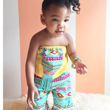 Baby gypsy pants, boho baby, baby easter set, baby bloomers set, baby pant set, girls pant set, girls bloomers, baby harem pants, baby top
