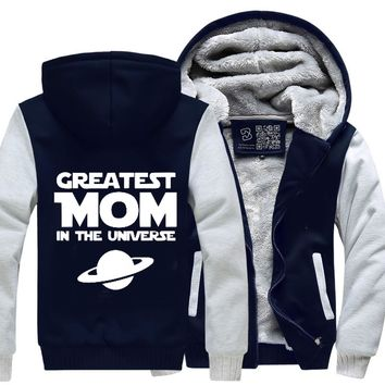 Greatest Mom In The Universe, Mother's Day Fleece Jacket
