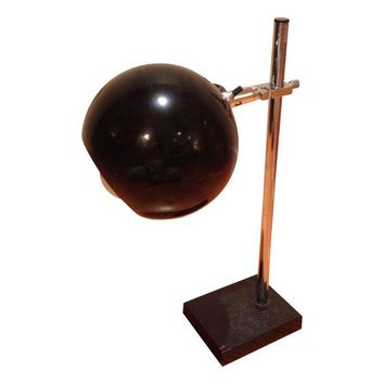 Pre-owned Vintage Mid-Century Black Eyeball Lamp