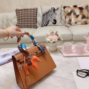 HCXX 19Sep 1002 Hermes Fashion Classic Handle Pony Accessories Scarves Kelly Bag