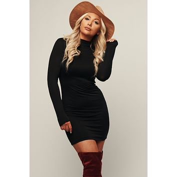 Forever Friends Bodycon (Black)