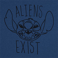 Lilo & Stitch Aliens Exist T-Shirt