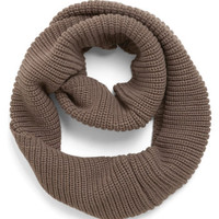 ModCloth Boho Open Air Outing Circle Scarf in Taupe